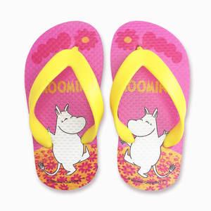 YOSHI850 Moomin嚕嚕米正版授權:夾腳拖鞋【07】 兒童