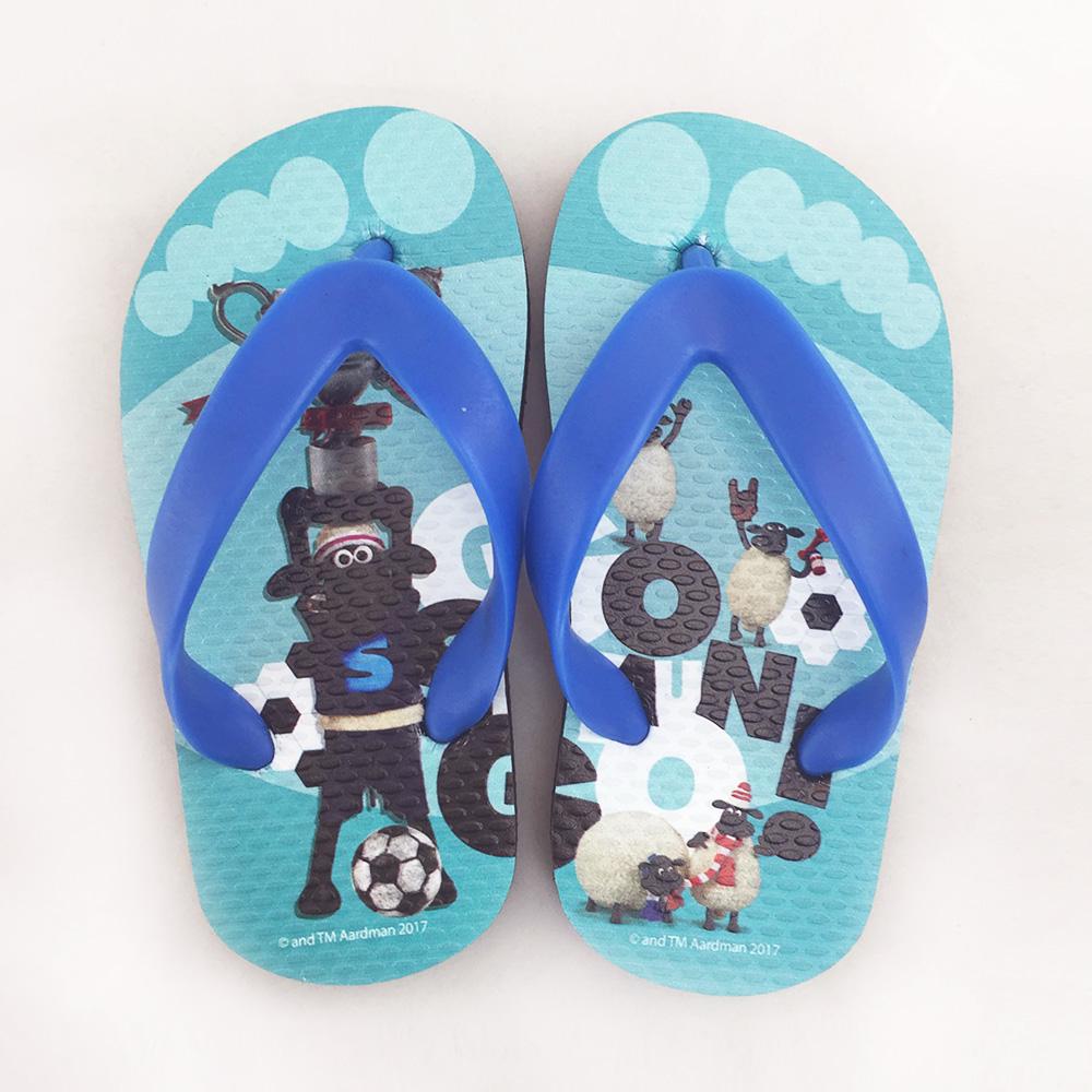 YOSHI850 笑笑羊正版授權:夾腳拖鞋【3】 兒童