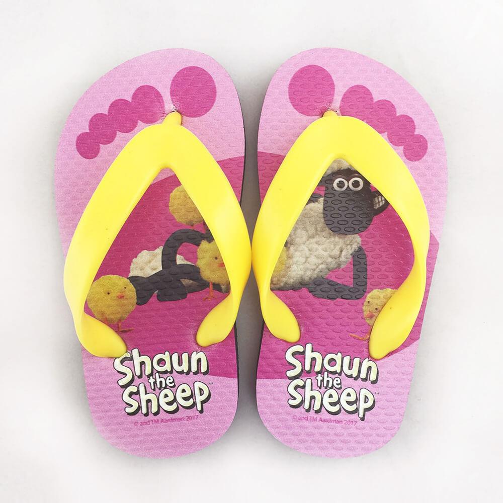 YOSHI850 笑笑羊正版授權:夾腳拖鞋【4】 兒童