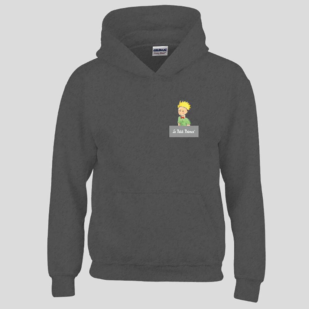 YOSHI850|經典小王子正版授權:帽T【06 石楠灰】成人長袖 T-shirt (石楠灰)