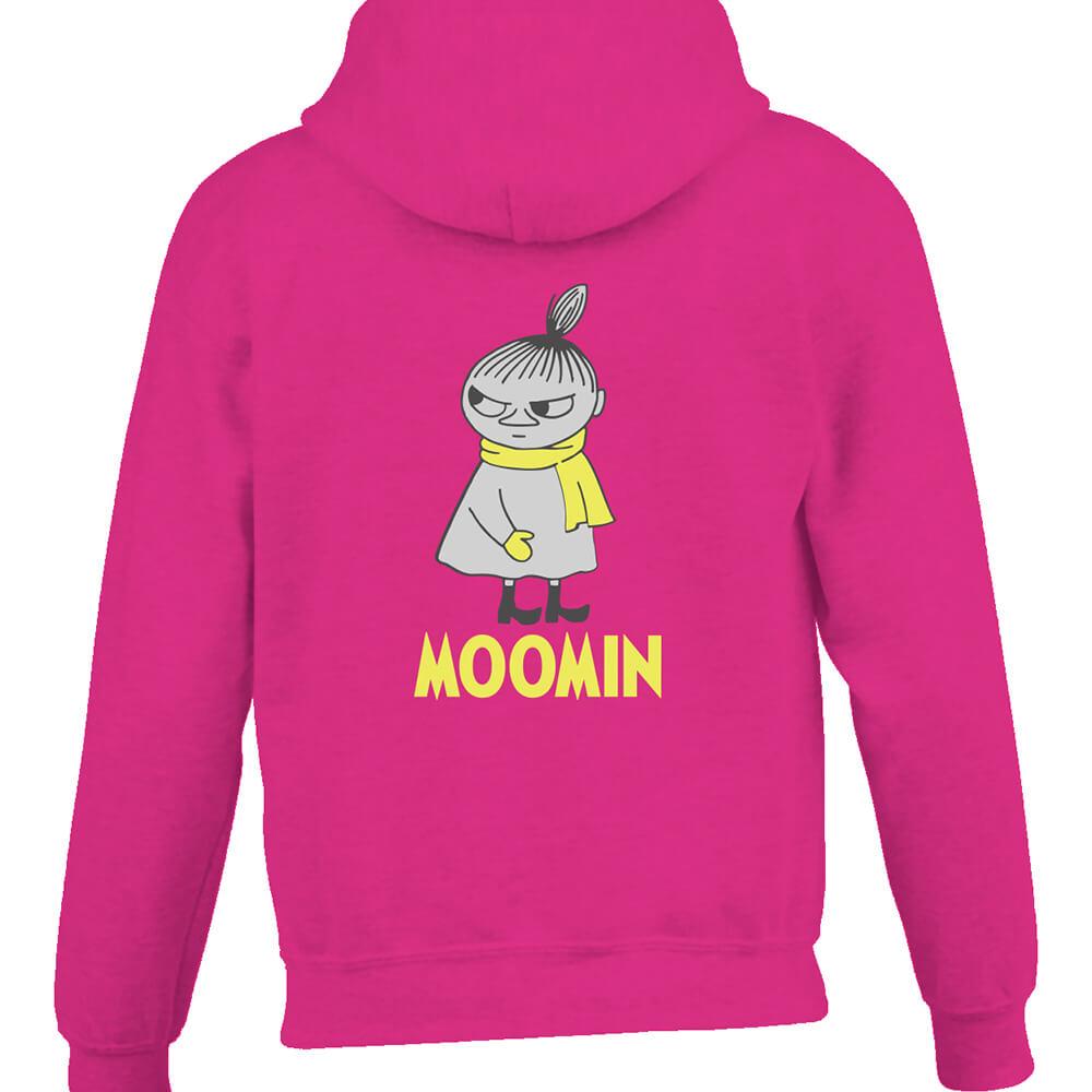 YOSHI850|Moomin嚕嚕米正版授權:連帽夾克【等待寒冬】成人長袖(桃紅)