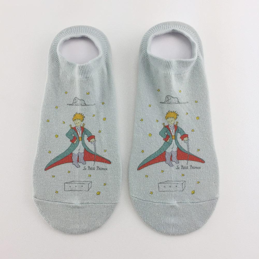 YOSHI850|小王子經典版授權 - 淺口襪系列:【淺藍色】