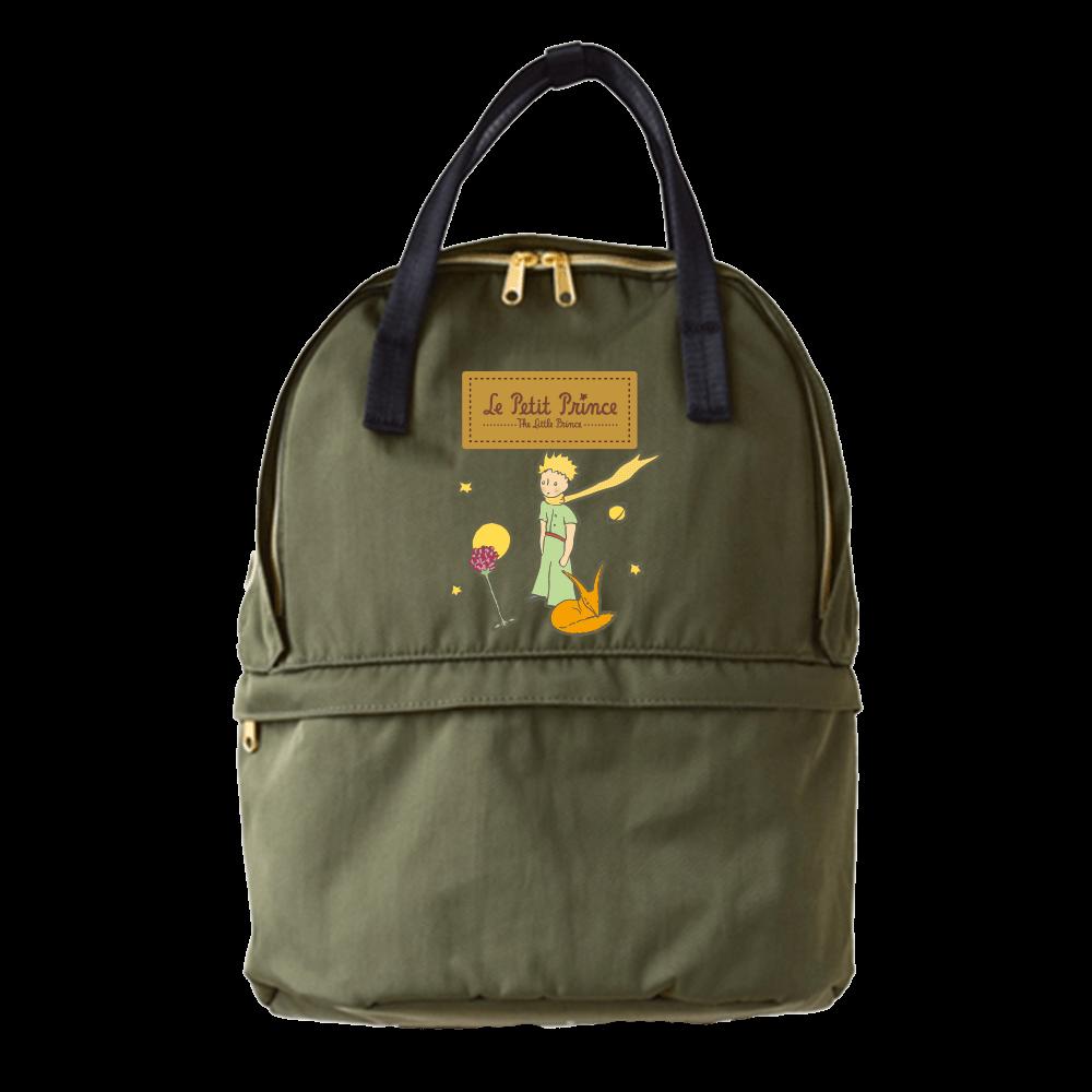 YOSHI850|小王子經典版授權:雙層後背包【軍綠】