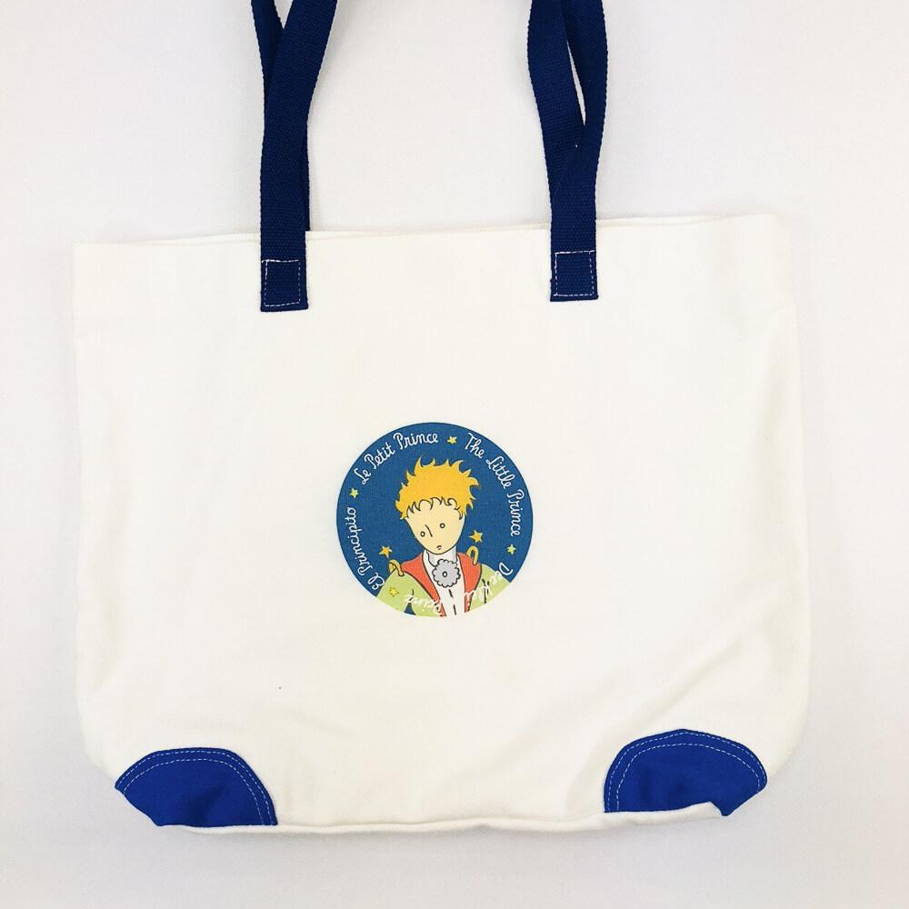 YOSHI850|小王子經典版授權:船型購物包【04藍】