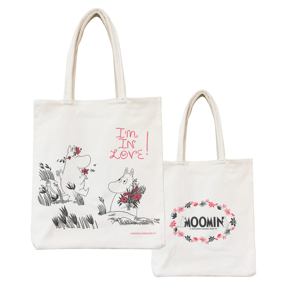 YOSHI850|Moomin嚕嚕米正版授權:野餐包【02 獻上我的愛】