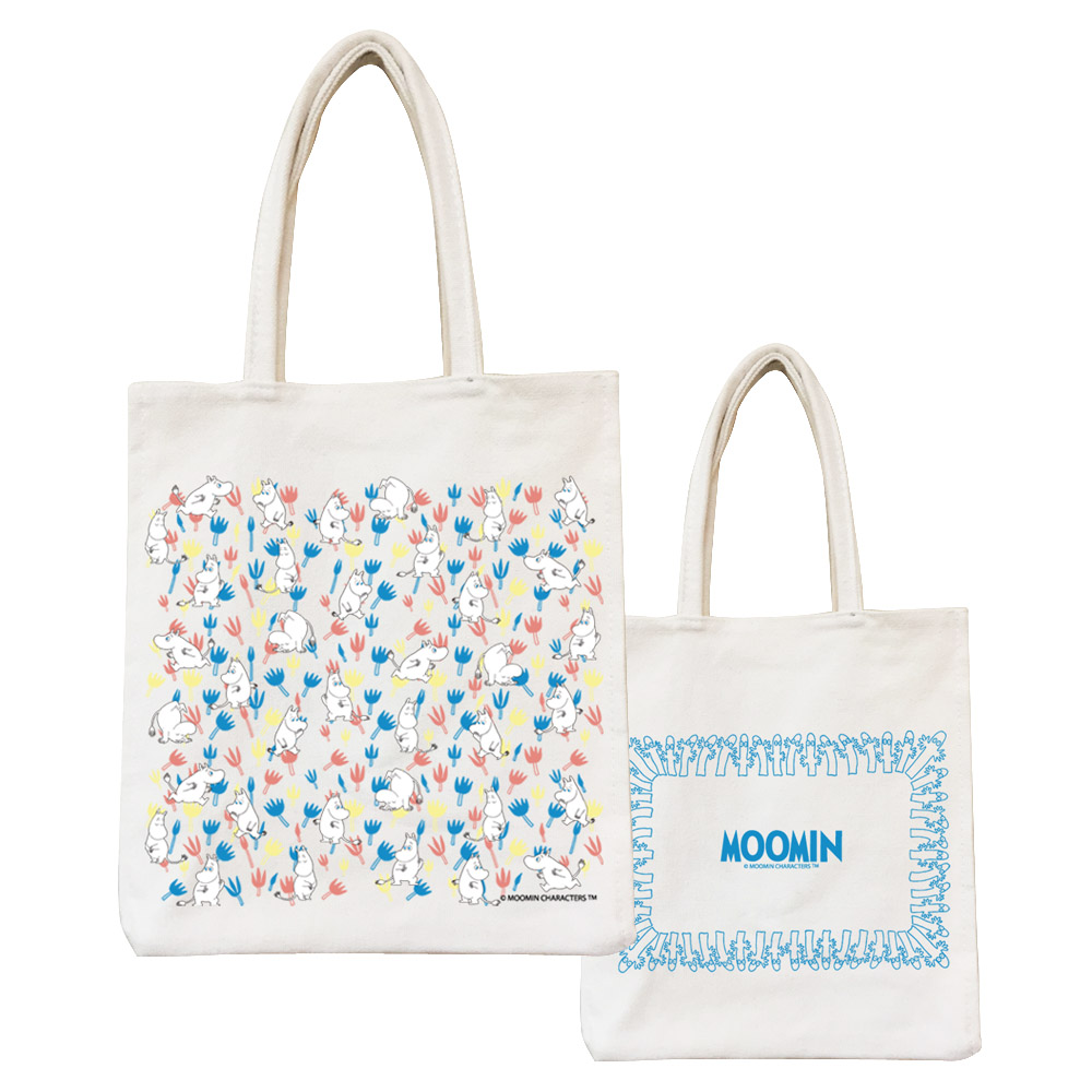 YOSHI850|Moomin嚕嚕米正版授權:野餐包【06 Moomin精靈】