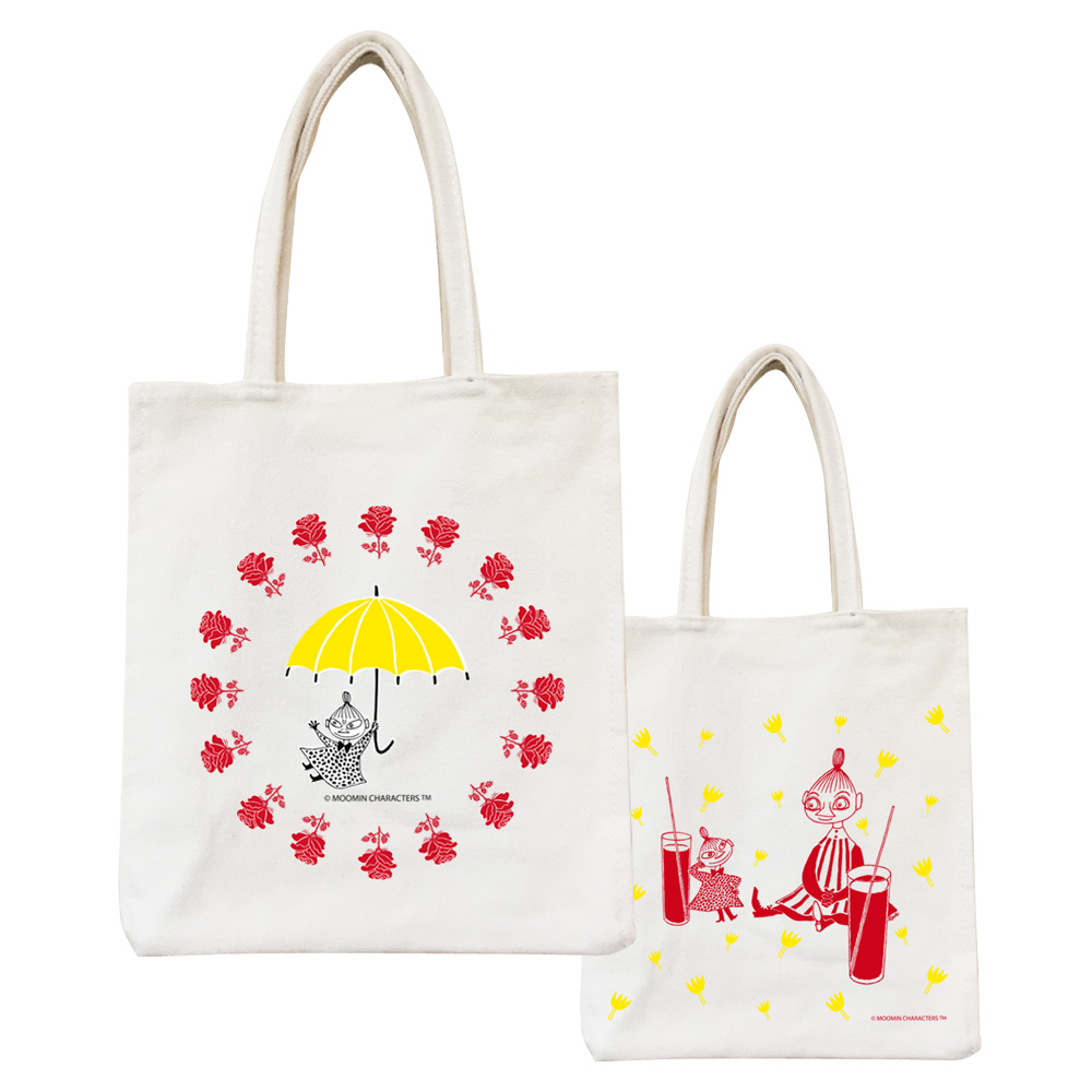 YOSHI850 Moomin嚕嚕米正版授權:野餐包【08 美寶與小不點】
