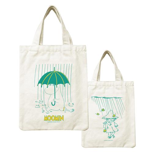 YOSHI850|Moomin嚕嚕米正版授權:野餐包【12 雨中散步】
