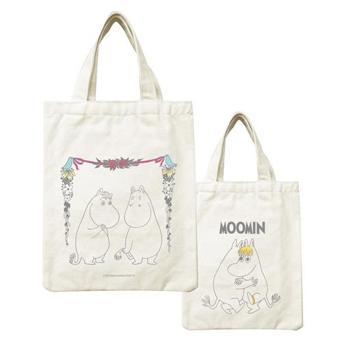 YOSHI850 Moomin嚕嚕米正版授權:野餐包【14 愛慕 】