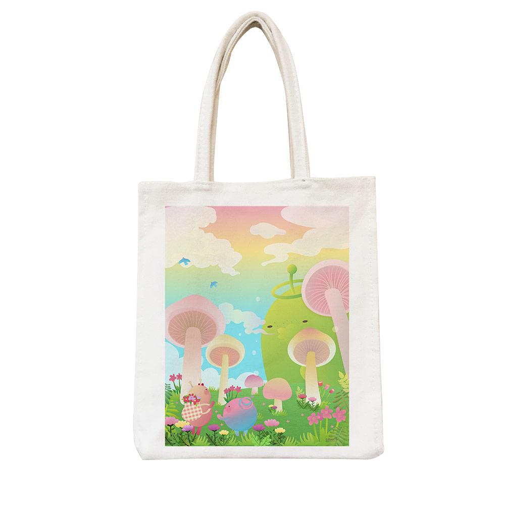 YOSHI850|新創設計師 - 沒個性星人Roo:野餐包【02 大瓜菇世界】