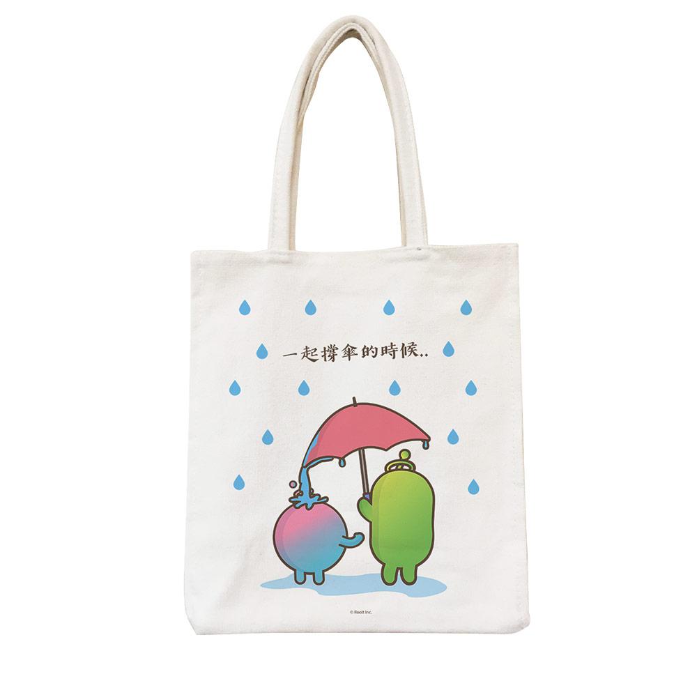 YOSHI850|新創設計師 - 沒個性星人Roo:野餐包【04 一起撐傘】