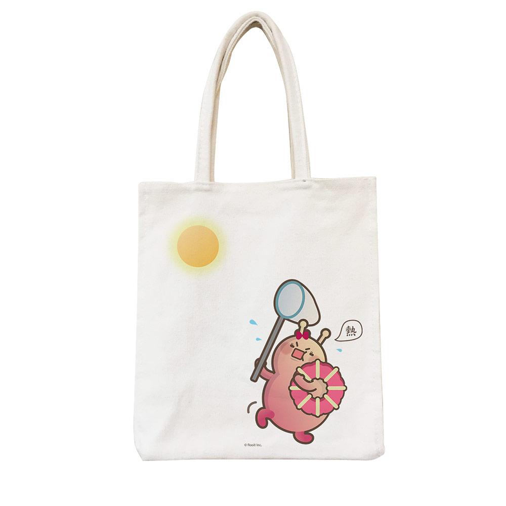 YOSHI850|新創設計師 - 沒個性星人Roo:野餐包【05 嚕比抓太陽】