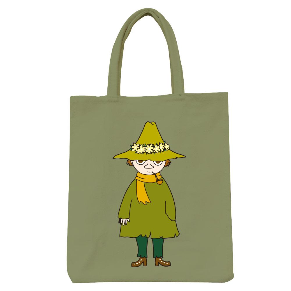 YOSHI850 Moomin嚕嚕米正版授權:彩色野餐包【03 阿金(軍綠)】