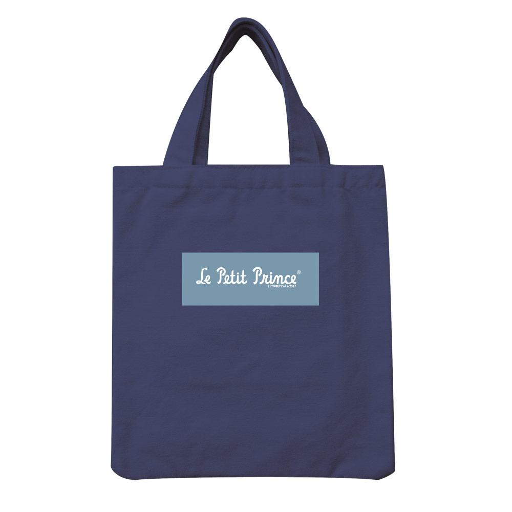 YOSHI850|小王子經典版授權:彩色手提小帆布包【08 帶我去旅行(藏青)】