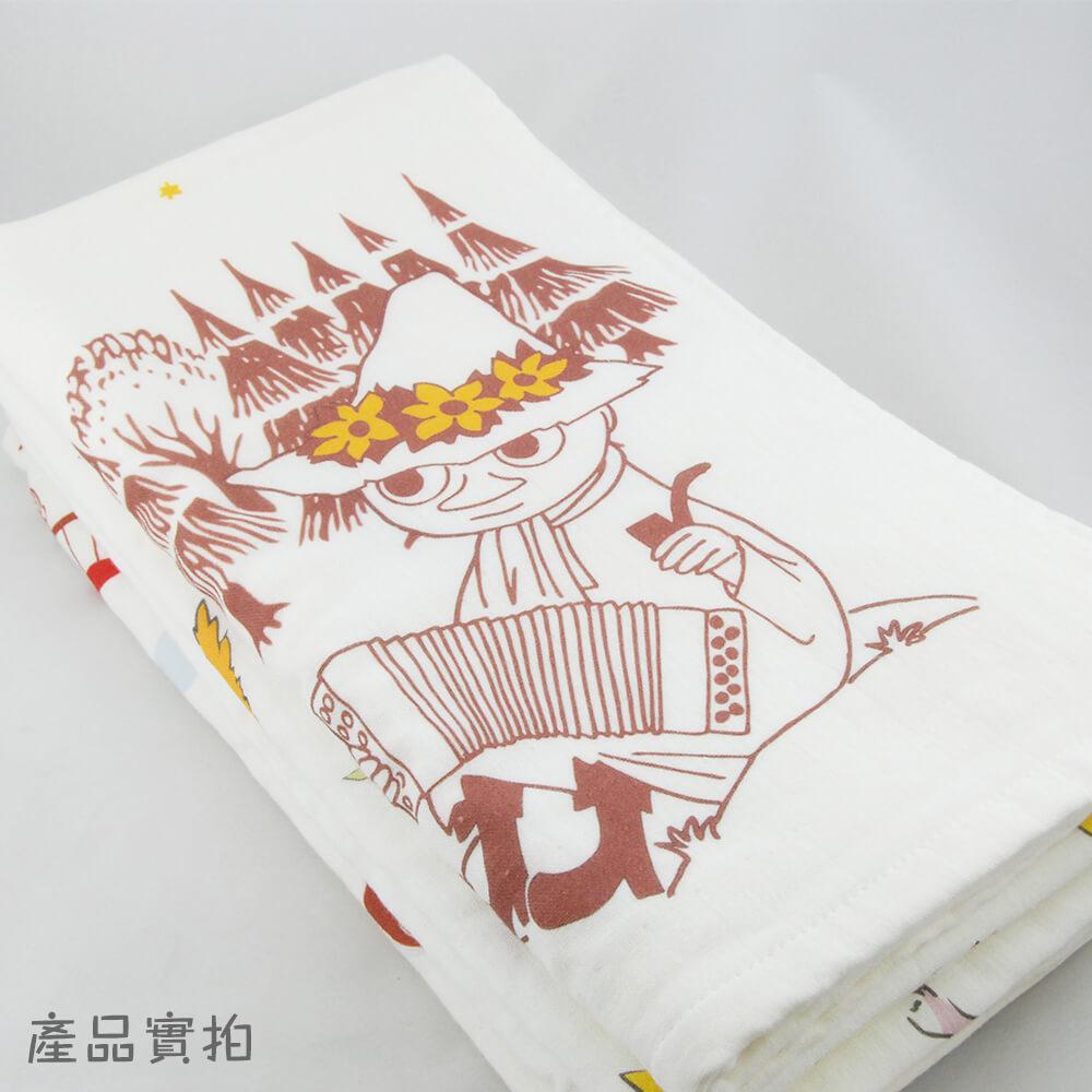 YOSHI850|嚕嚕米正版授權 - 厚棉浴巾 【仲夏之夜】