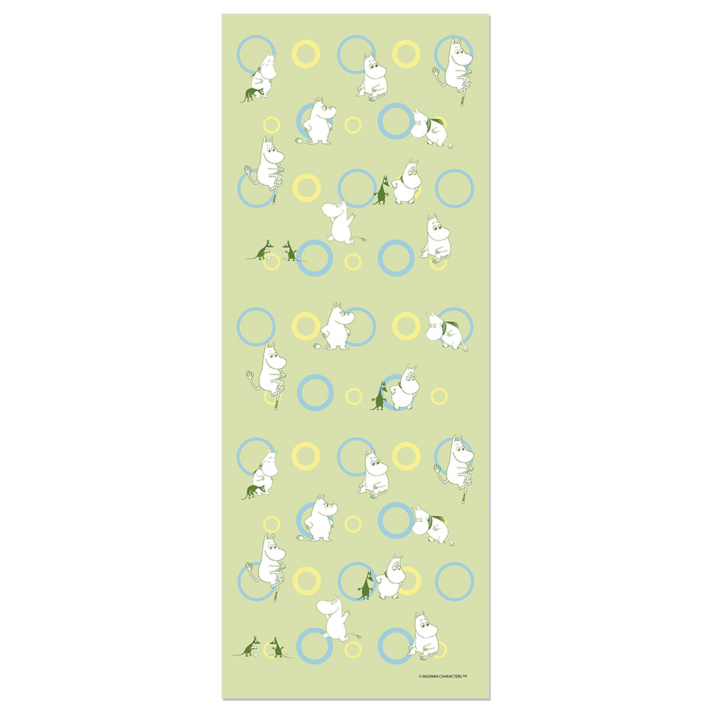 YOSHI850 Moomin嚕嚕米正版授權:彩色厚棉(雙層)紗布毛巾【01】