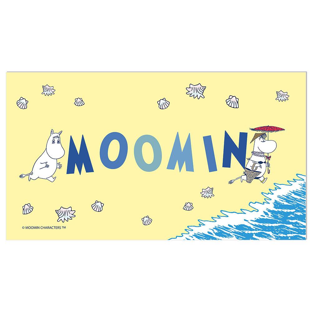 YOSHI850 Moomin嚕嚕米正版授權:彩色厚棉浴巾【01】