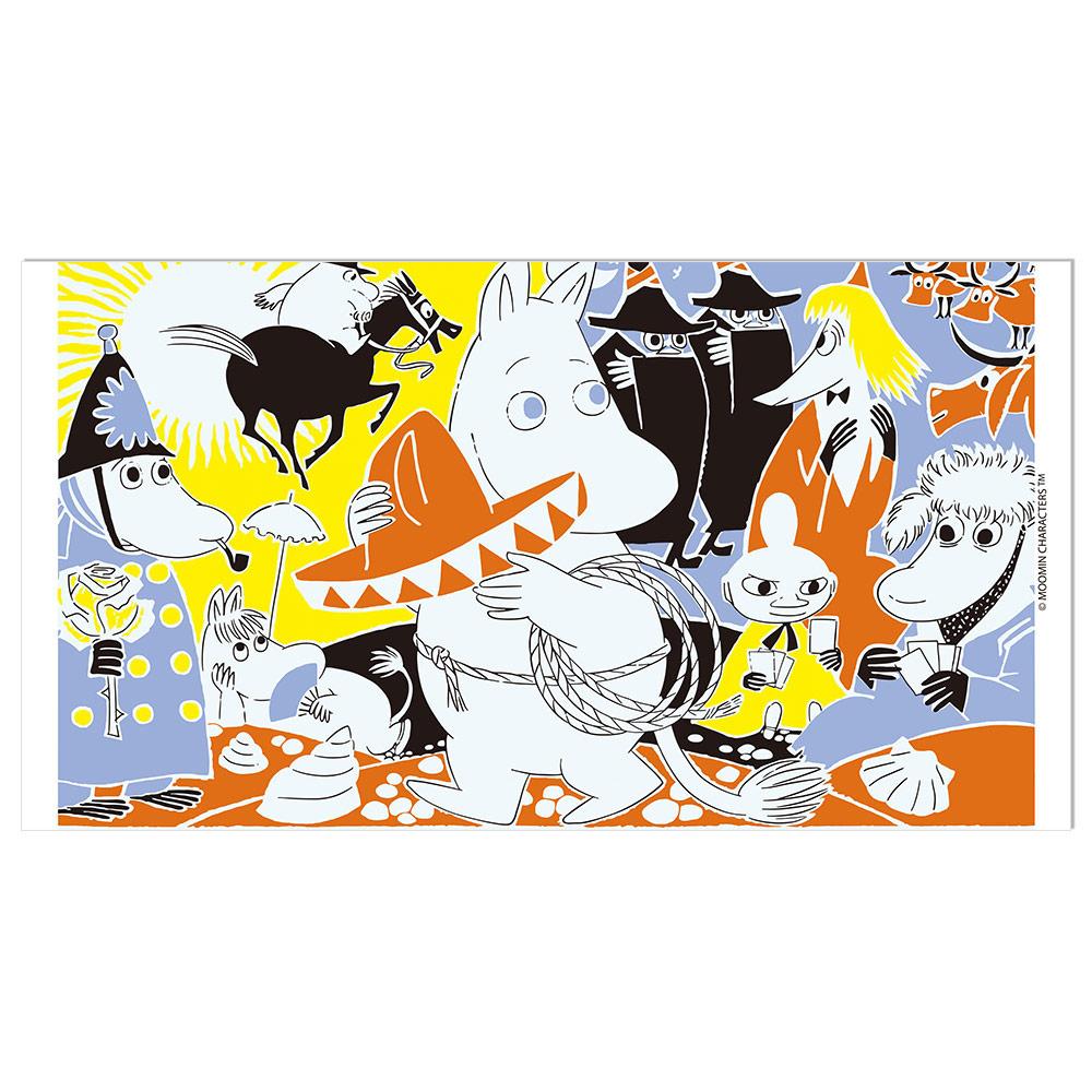 YOSHI850|Moomin嚕嚕米正版授權:彩色厚棉浴巾【03】