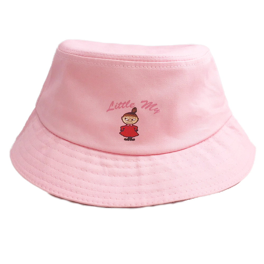 YOSHI850 Moomin嚕嚕米正版授權:漁夫帽【03 粉紅】