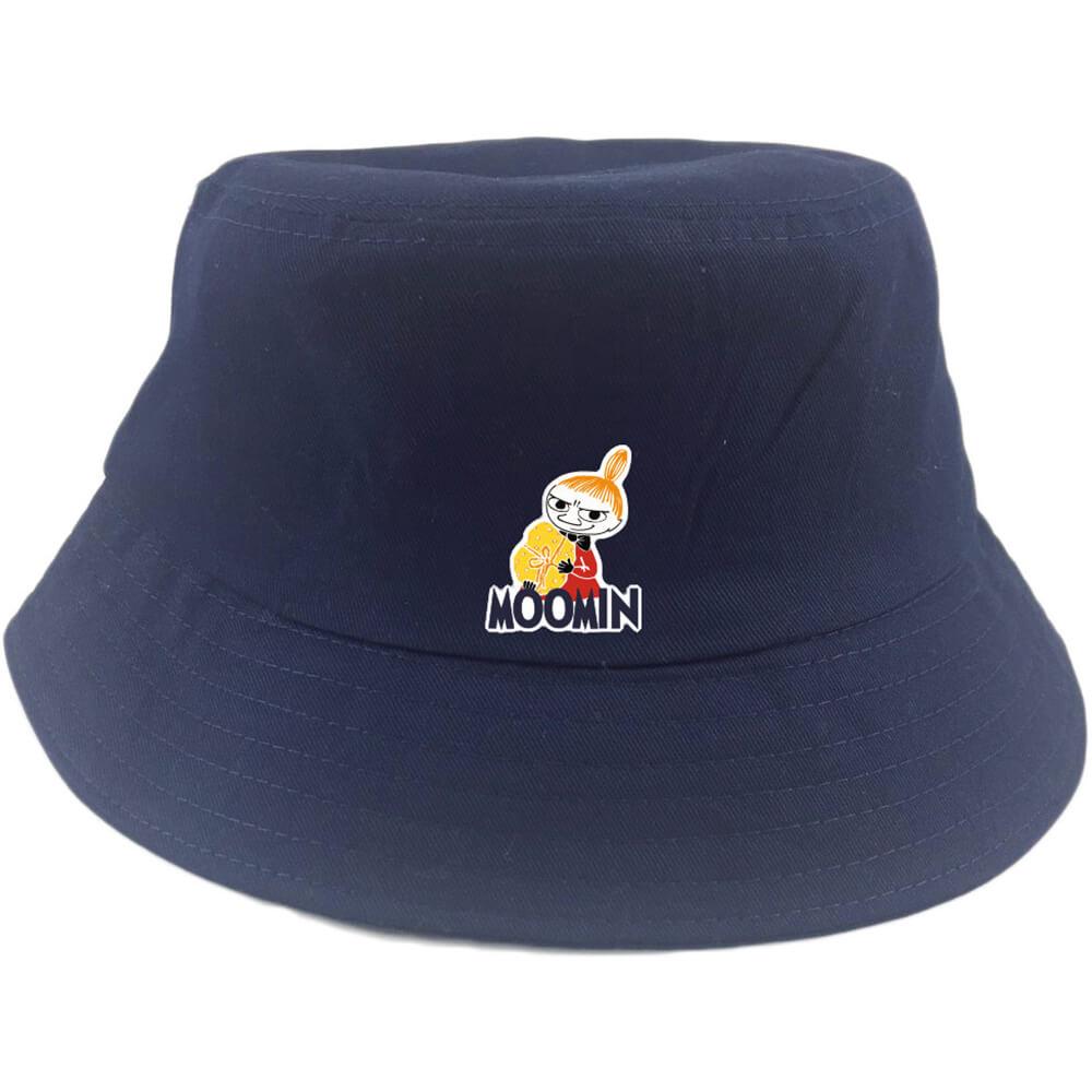 YOSHI850|Moomin嚕嚕米正版授權:漁夫帽【04 藏青】