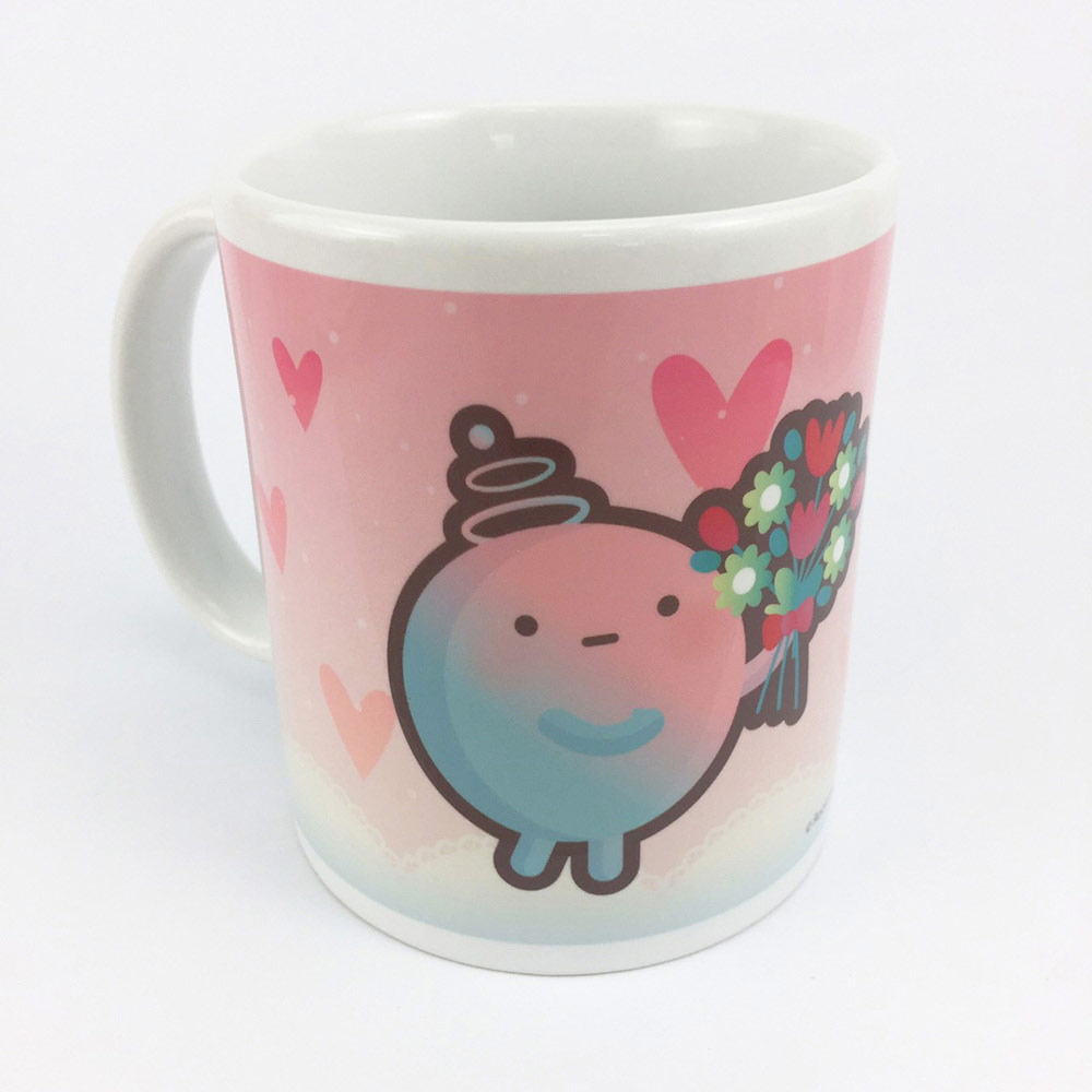YOSHI850|新創設計師 - 沒個性星人Roo:馬克杯【03情人杯-阿嚕】