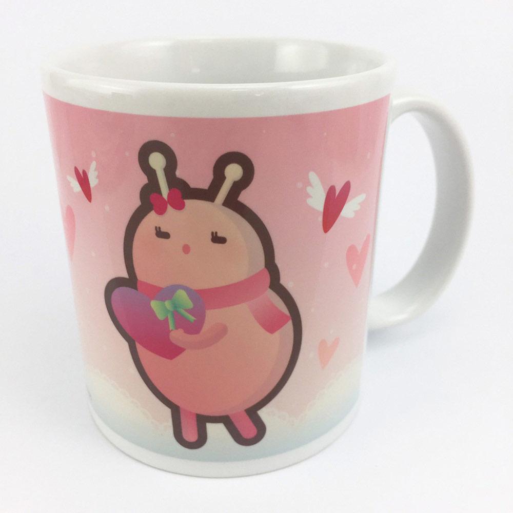 YOSHI850 新創設計師 - 沒個性星人Roo:牛奶杯【04情人杯-嚕比】