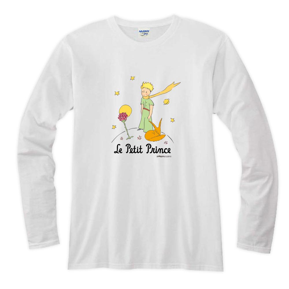 YOSHI850|小王子經典版授權【06 狐狸的秘密禮物】長袖T-shirt (修身/中性)7種顏色