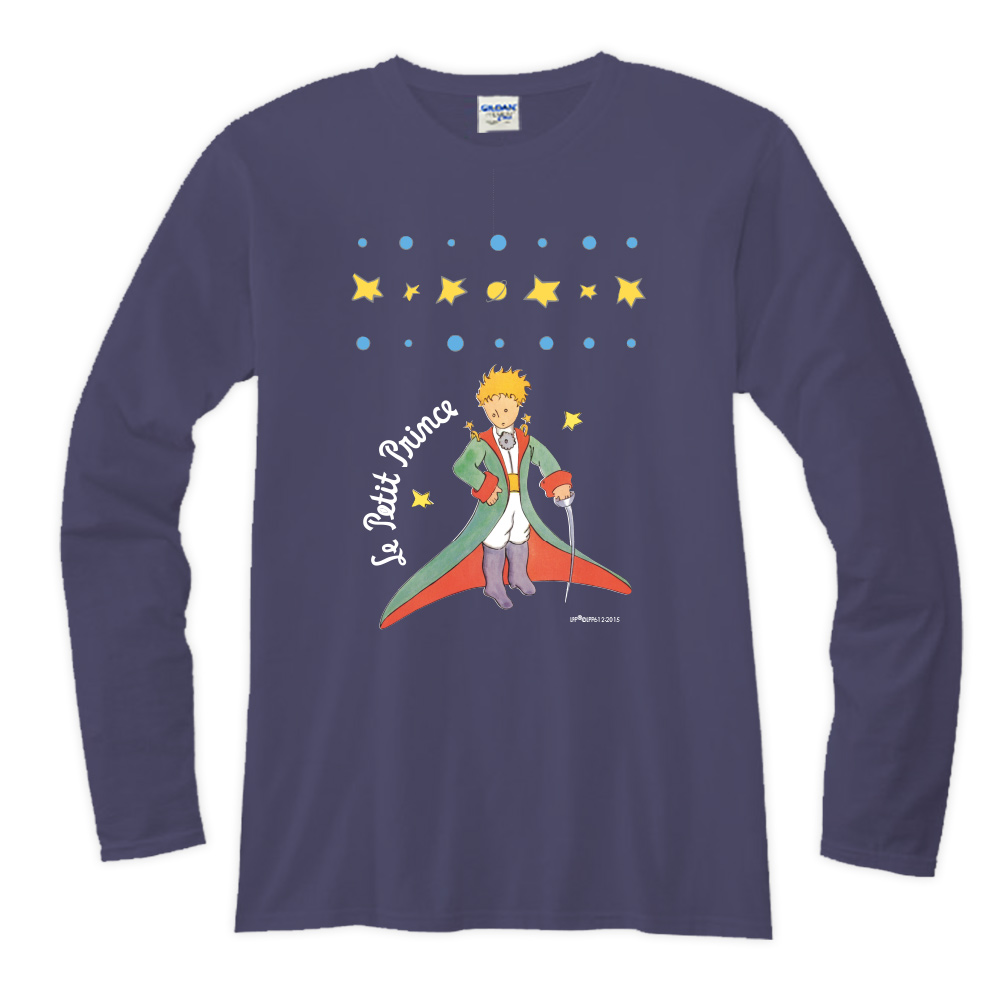 YOSHI850|小王子經典版授權【07 星星王子】長袖T-shirt (修身/中性)7種顏色