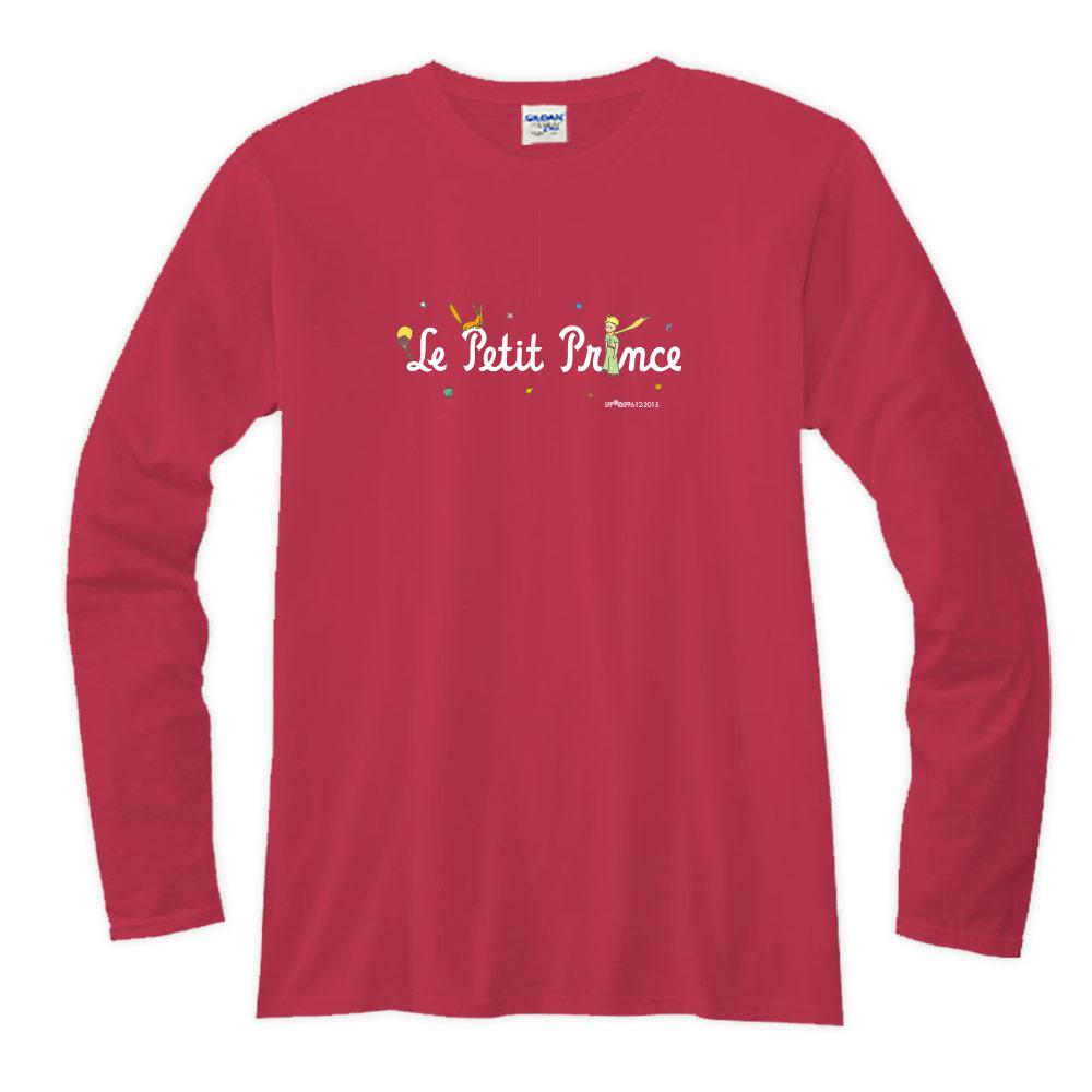 YOSHI850|小王子經典版授權【16 小王子LOGO】長袖T-shirt (修身/中性)7種顏色