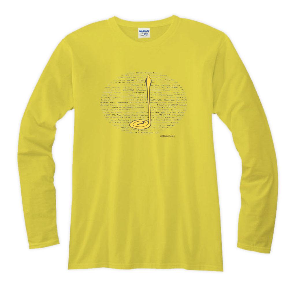 YOSHI850 小王子經典版授權【19 沙漠中的黃蛇】長袖T-shirt (修身/中性)7種顏色