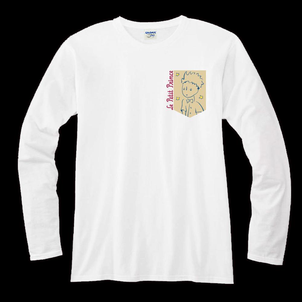 YOSHI850|小王子經典版授權【23】長袖T-shirt (修身/中性)白色