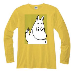 YOSHI850|Moomin嚕嚕米正版授權【10】長袖T-shirt (修身)黃色