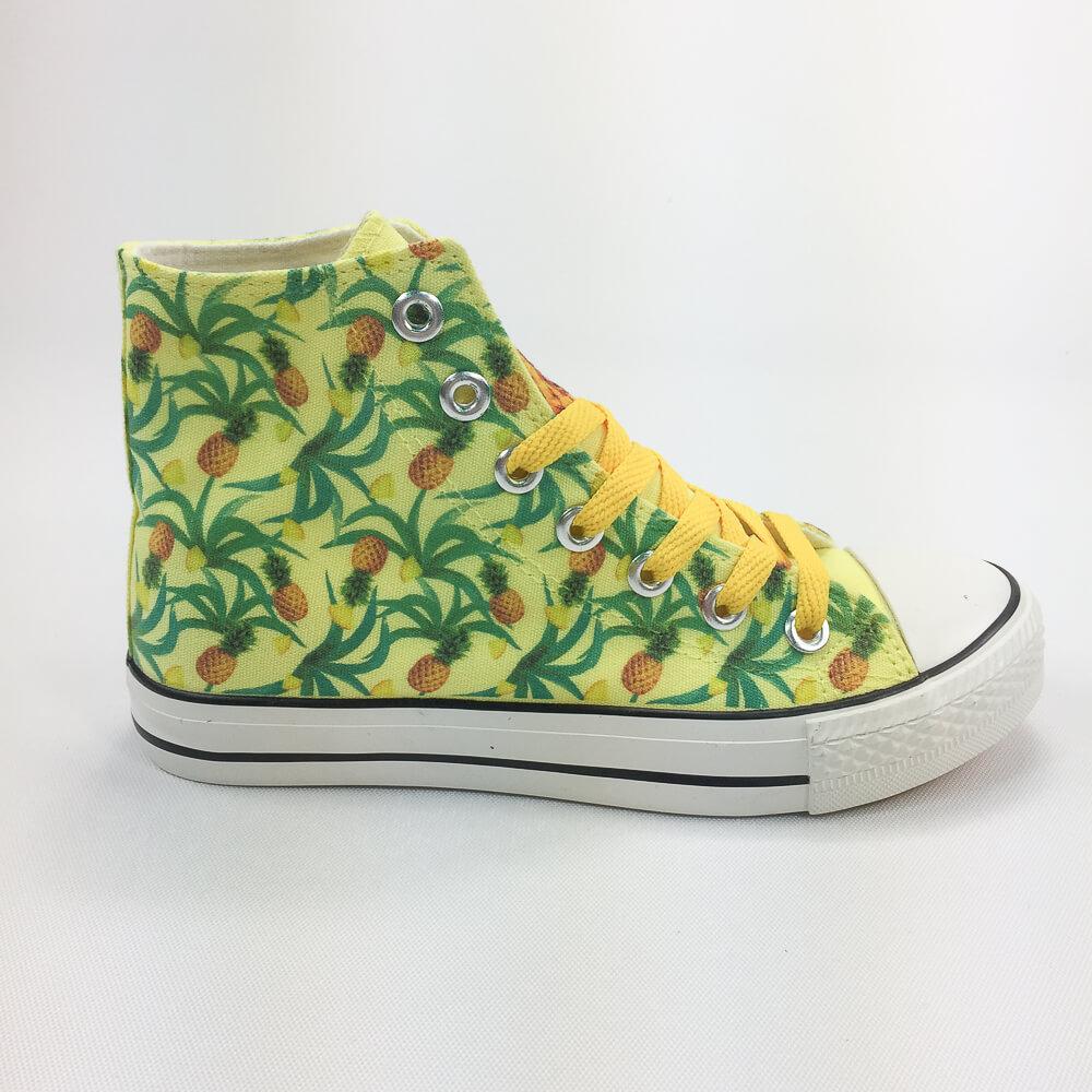 YOSHI850|新創設計師850 Collections:帆布鞋【11 黃鞋黃帶】