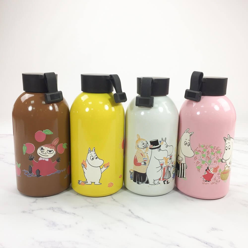 YOSHI850|Moomin嚕嚕米正版授權:大容量不鏽鋼保溫瓶(650ml)【04 黃】