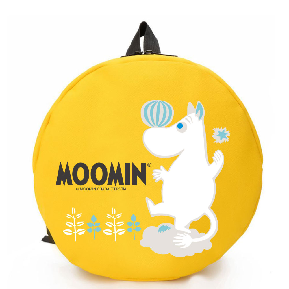 YOSHI850|Moomin嚕嚕米正版授權:圓形後背包01 -CE24AE01