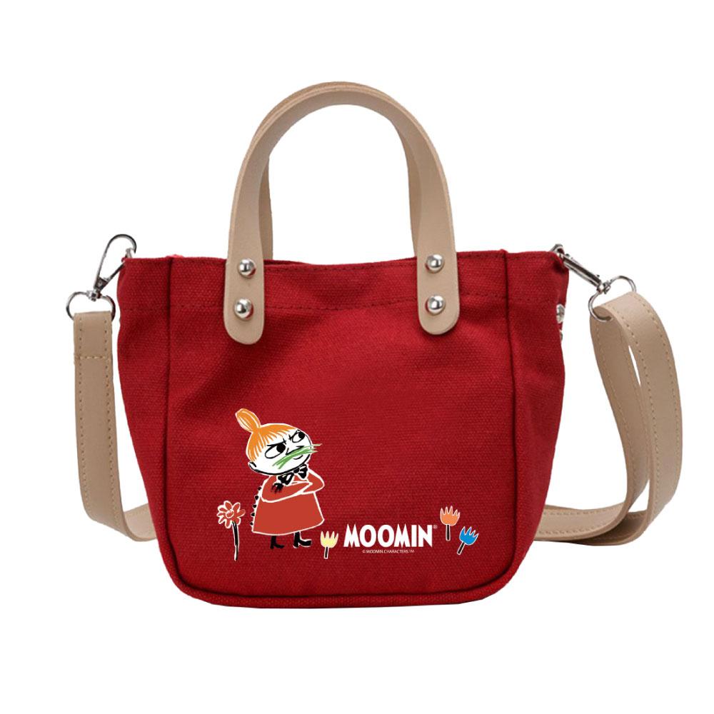 YOSHI850|Moomin嚕嚕米正版授權:皮帶肩背小包05(紅) -CE22AE05