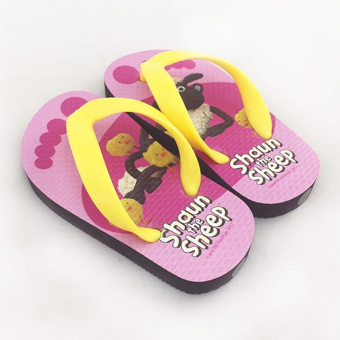 (複製)YOSHI850|笑笑羊正版授權:夾腳拖鞋【3】 兒童