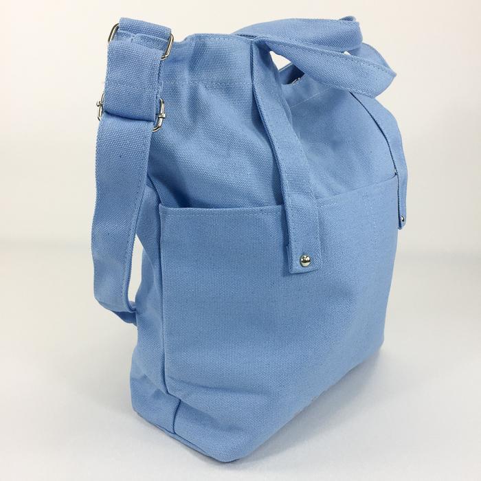 (複製)YOSHI850|小王子經典版授權:學院風手提肩背包【水藍】
