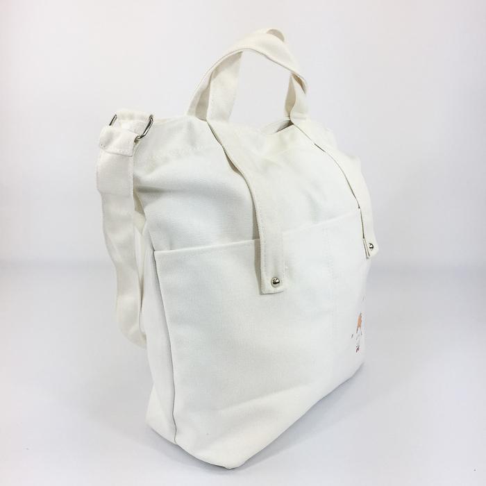 (複製)YOSHI850|嚕嚕米正版授:學院風手提肩背包【水藍】