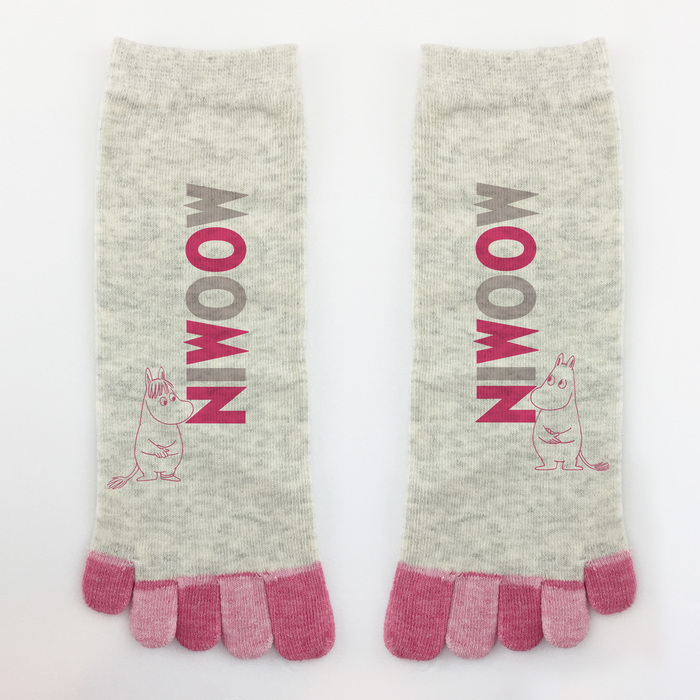 (複製)YOSHI850|小王子經典版授權 - 五趾襪系列:【粉紅/麻灰/紫/藍色4款圖】