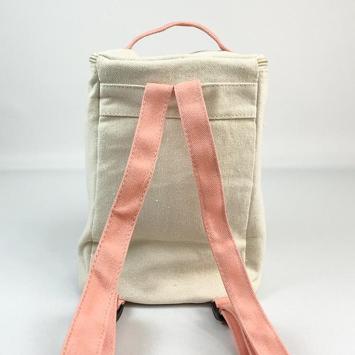 (複製)YOSHI850|嚕嚕米正版授權:方筒拼色後背包【灰】(親子包-大款)