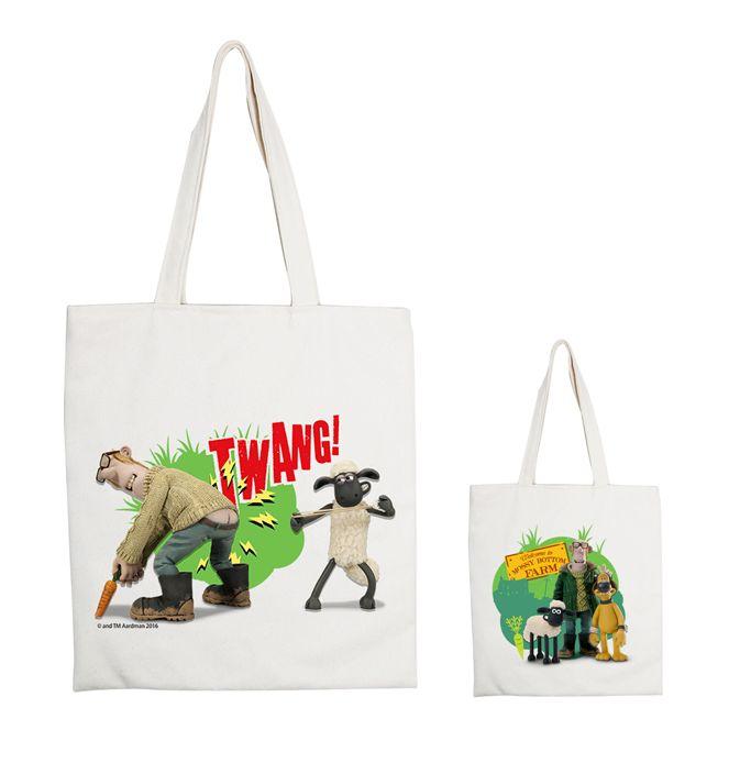(複製)YOSHI850|笑笑羊正版授權:手提購物包【05 草原三傻 】米白/麻黃