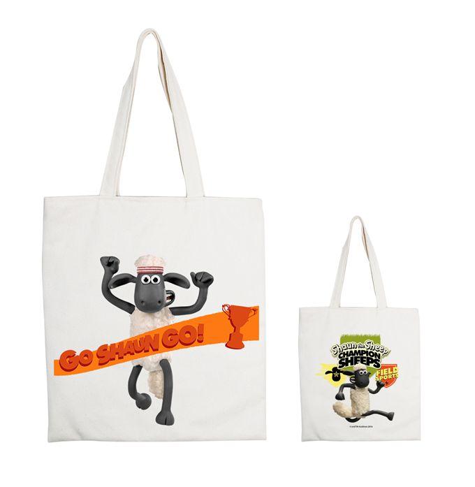 (複製)YOSHI850|笑笑羊正版授權:手提購物包【06 開心農場 】米白/麻黃