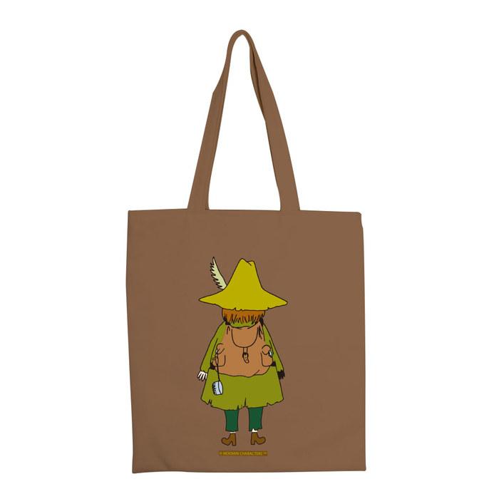 (複製)YOSHI850|嚕嚕米正版授權:彩色手提購物包【03 花漾(卡其)】