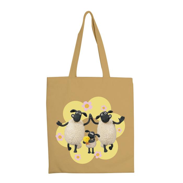 (複製)YOSHI850|笑笑羊正版授權:彩色手提購物包【07 BAA!!(水藍)】