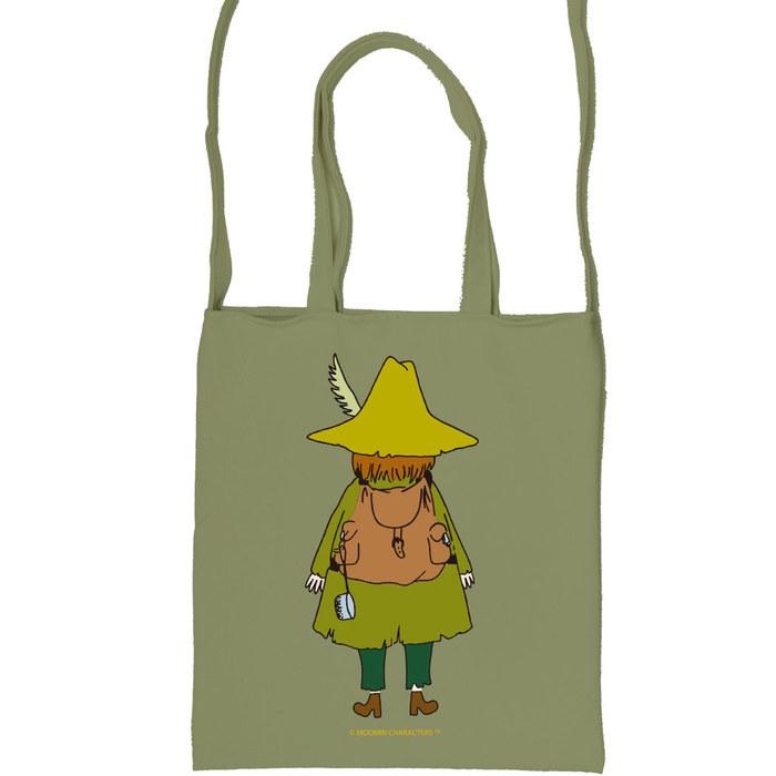 (複製)YOSHI850|嚕嚕米正版授:彩色斜背包【03 阿金(咖啡)】