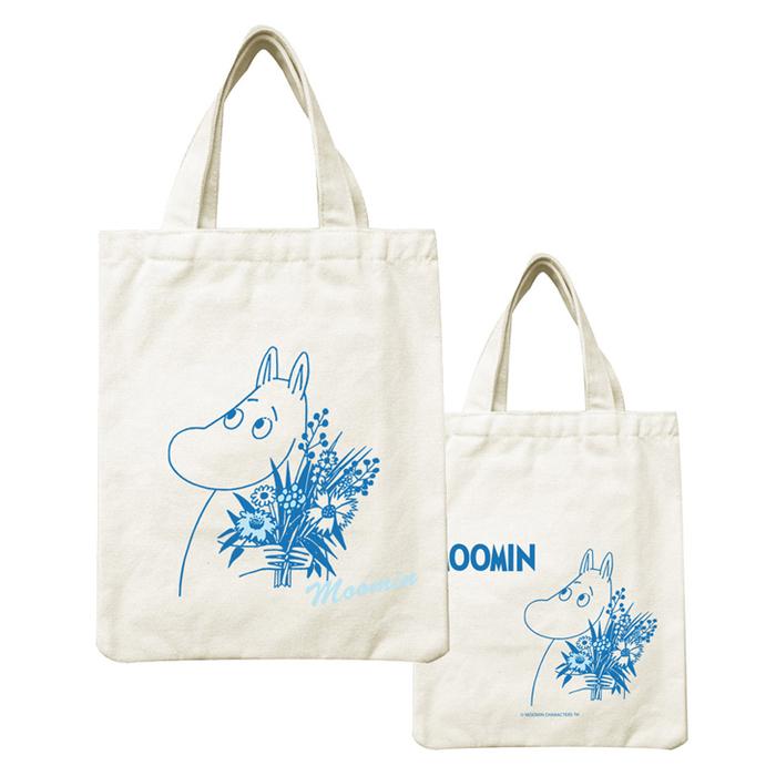 (複製)YOSHI850|Moomin嚕嚕米正版授權:野餐包【08 美寶與小不點】