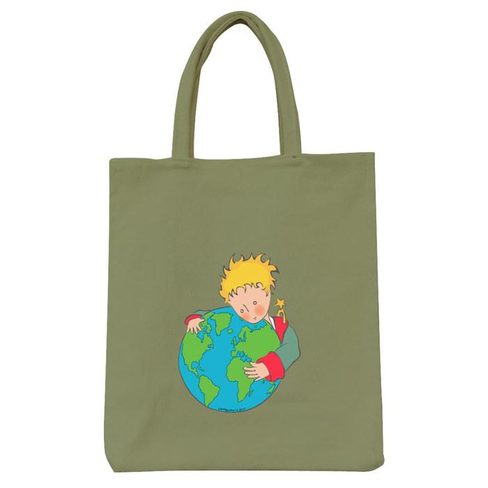 (複製)YOSHI850|小王子經典版授權:彩色野餐包【03 另一個星球(果綠)】