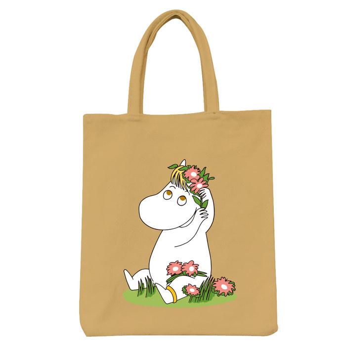 (複製)YOSHI850|Moomin嚕嚕米正版授權:彩色野餐包【02 花漾(果綠)】