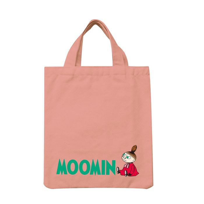 (複製)YOSHI850 Moomin嚕嚕米正版授權:彩色手提小帆布包【03 阿金(軍綠)】